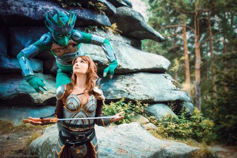 Cosplay Wednesday –  Neverwinter Nights' Aribeth de Tylmarande