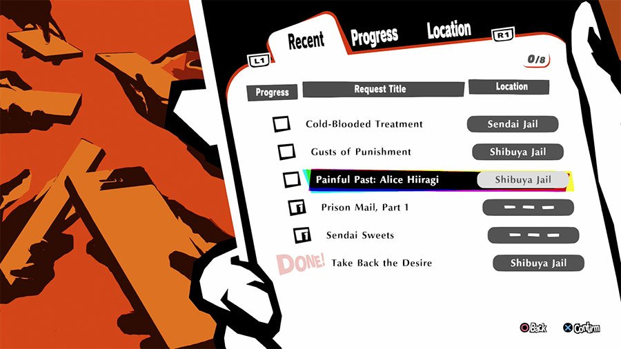 Persona 5 Strikers Request Guide
