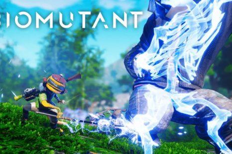New Biomutant Combat Trailer Released