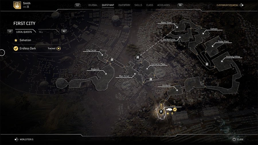 Customize The Vehicle In Outriders