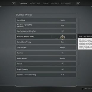 How To Auto Loot In Outriders