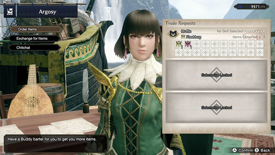 How To Unlock More Submarine Slots In Monster Hunter Rise