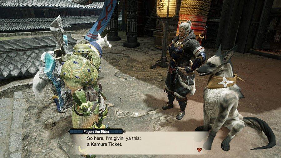 Kamura Tickets In Monster Hunter Rise