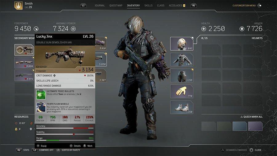 Lucky Jinx Double Gun Demolisher