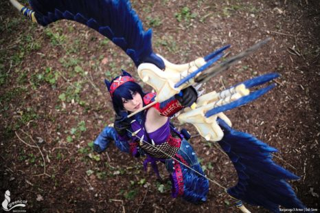Cosplay Wednesday – Monster Hunter World: Iceborne's Nargacuga