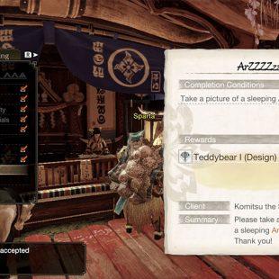 Monster Hunter Rise Sleeping Arzuros Guide
