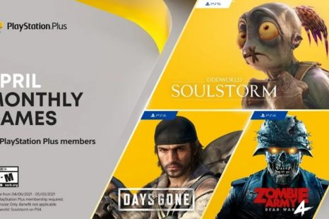 PlayStation Plus April 2021 Games Revealed