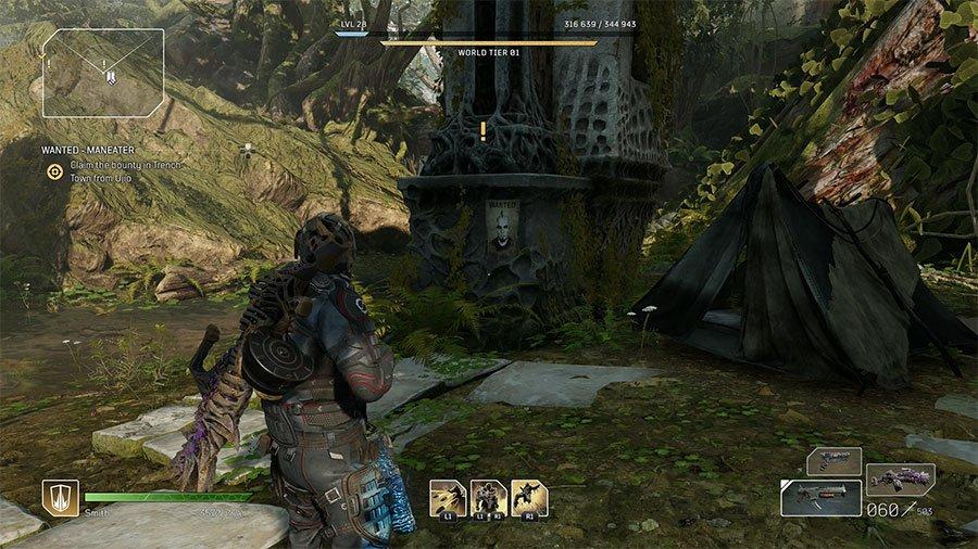 Wanted - Headmasher (Ancient Ruins)