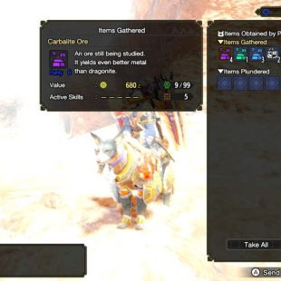 Where To Find Carbalite Ore In Monster Hunter Rise