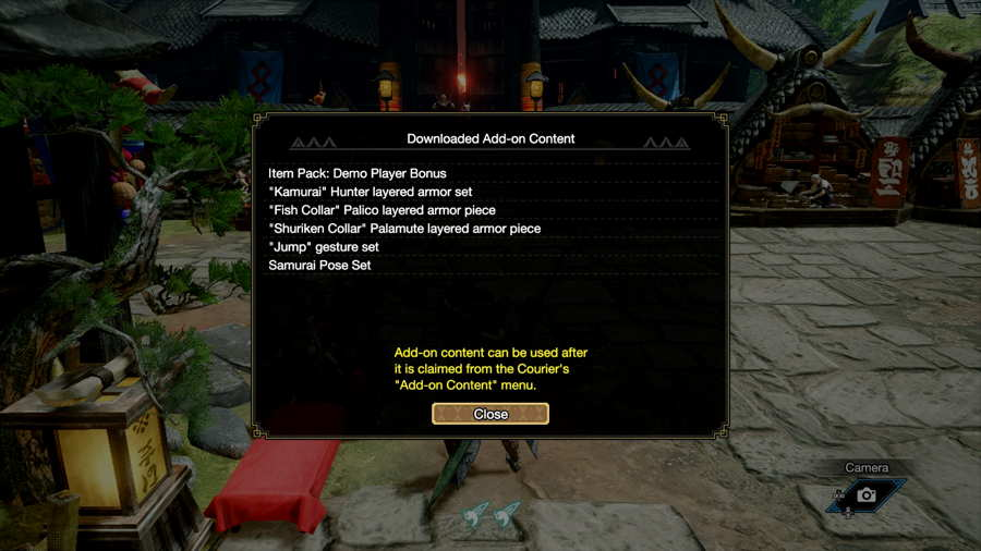 Where To Find Your DLC Items In Monster Hunter Rise