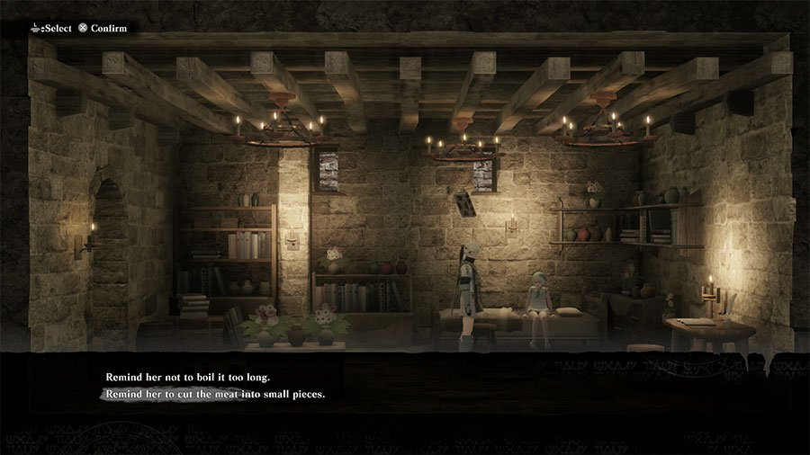 Cut Meat Into Small Pieces Or Not Boil It Too Long In NieR Replicant Ver1.22