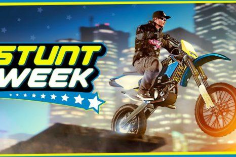 Stunt Week in GTA Online This Week