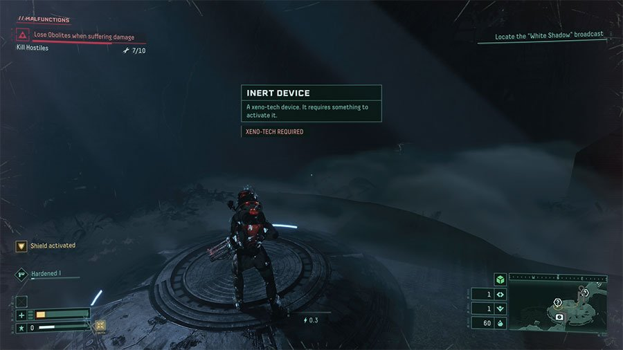 How To Activate Inert Device In Returnal