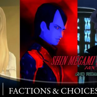 Shin Megami Tensei III Nocturne HD Remaster Gets Factions & Choices Trailer