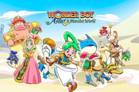 Wonder Boy: Asha in Monster World Gets New Trailer