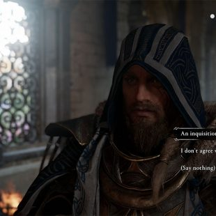 AC Valhalla An Inquisition Would Work, I Don't Agree, Say Nothing Choice Guide