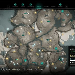 AC Valhalla Wrath of the Druids Trade Posts Location Guide