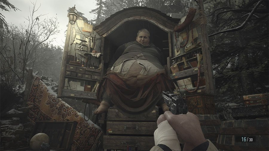 Can You Store Items In Resident Evil Village