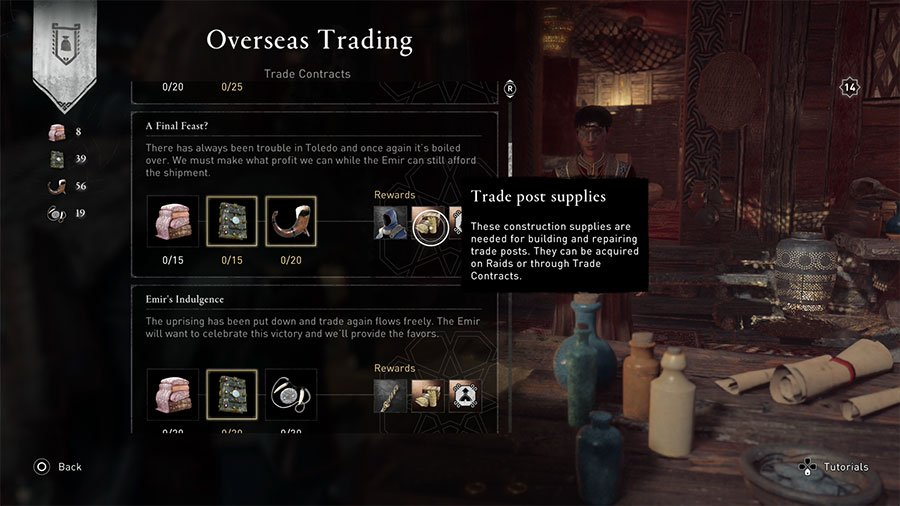 How To Get More Trade Post Supplies In AC Valhalla Wrath of the Druids