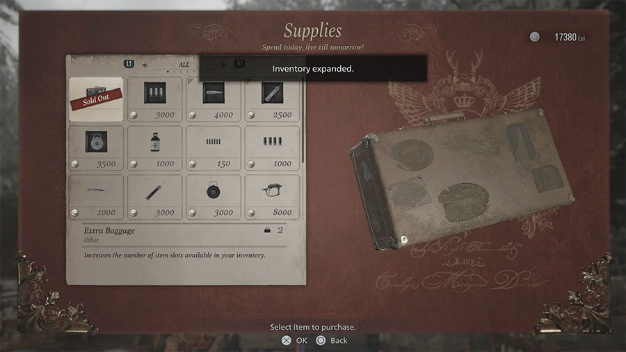 How To Increase Inventory Space In Resident Evil Village