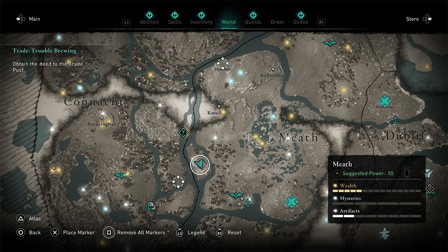 Assassin's Creed Valhalla Potion Of Strength Treasure Map Guide