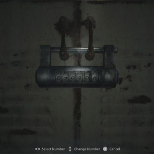 Resident Evil Village Workshop Lock Combination Guide