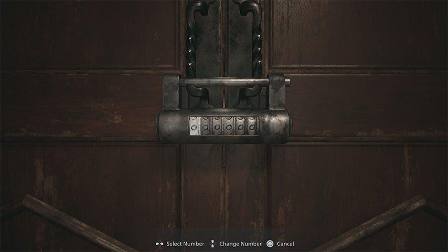 Resident Evil Village Doll Workshop Lock Combination