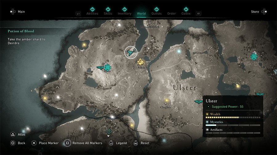 The Mist Clue Location #2