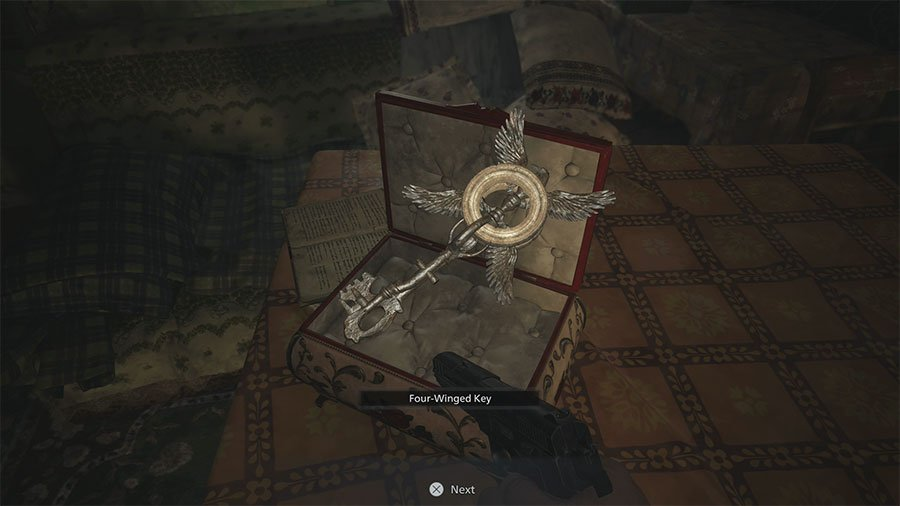 Where To Find The 4 Winged Key In Resident Evil 8 Village