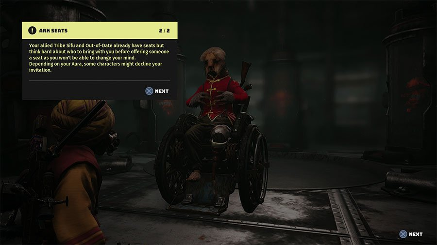 Who Can You Take On The Ark In Biomutant