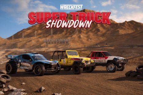 Super Truck Showdown Tournament Now Live in Wreckfest