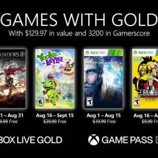 Games with Gold for August 2021 Detailed