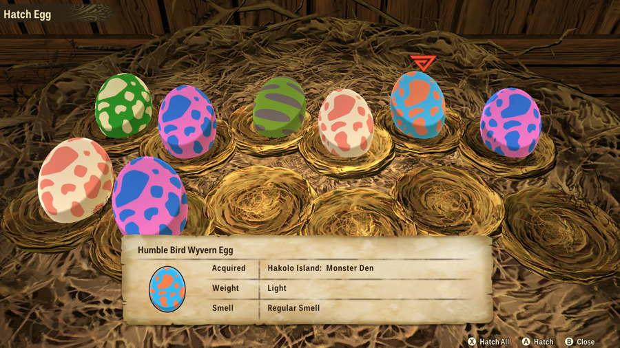 Monster Hunter Egg 1