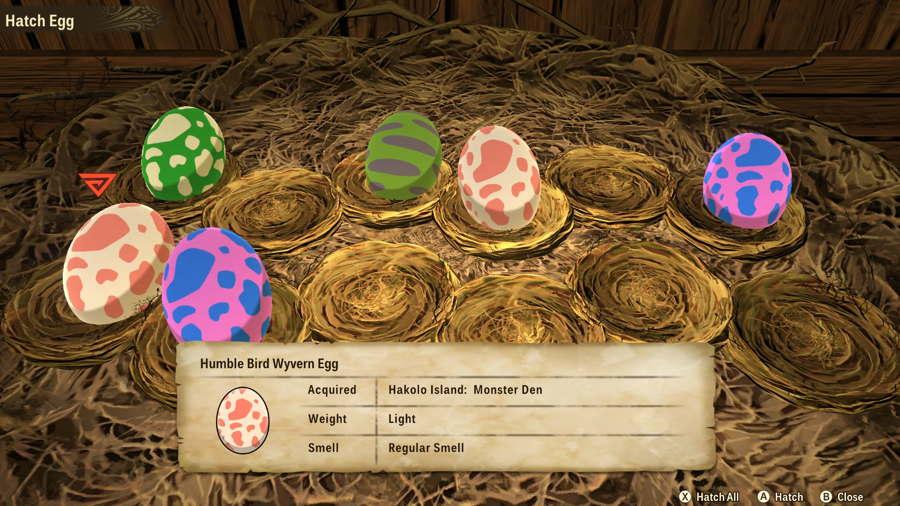 Monster Hunter Egg 3