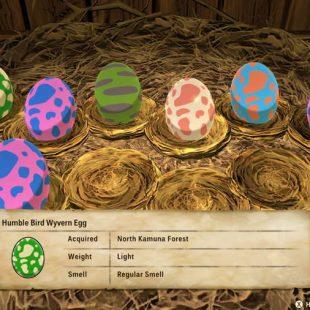 Monster Hunter Stories 2 Egg Color Guide