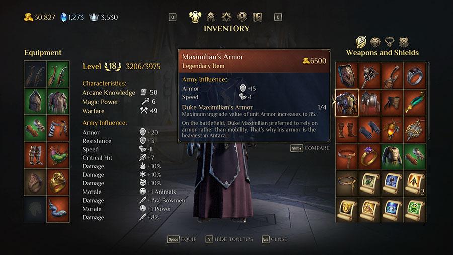 Duke Maximilian's Armor