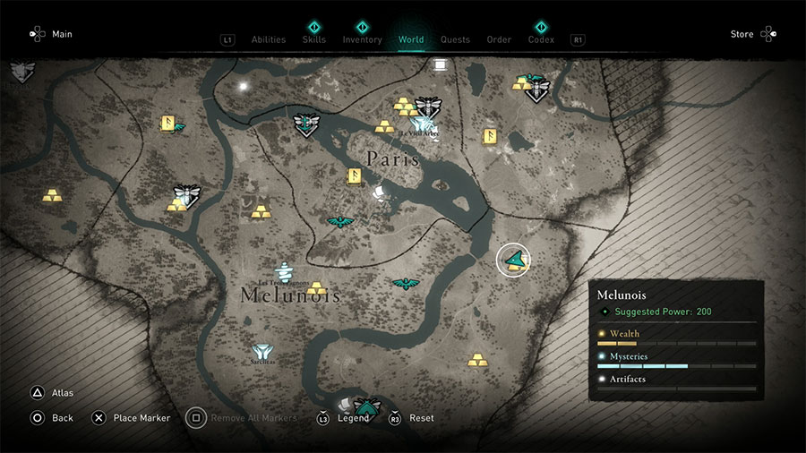 Map To Thieves Camp Guide