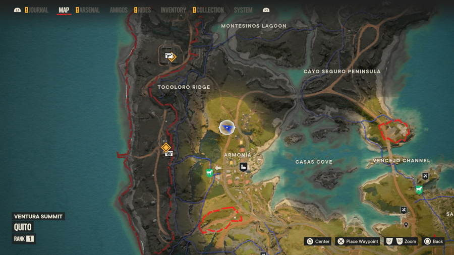 Armonia Cripto Chart location Far Cry 6