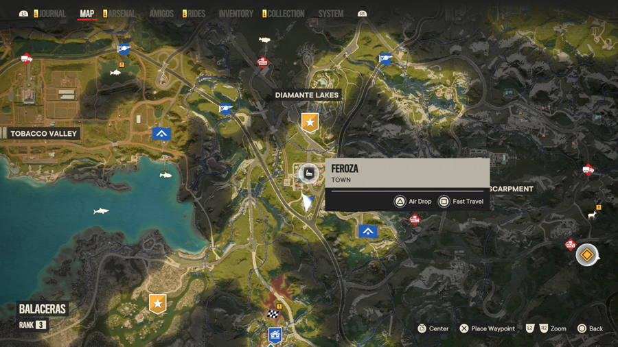 Cripto chest Feroza location Far Cry 6