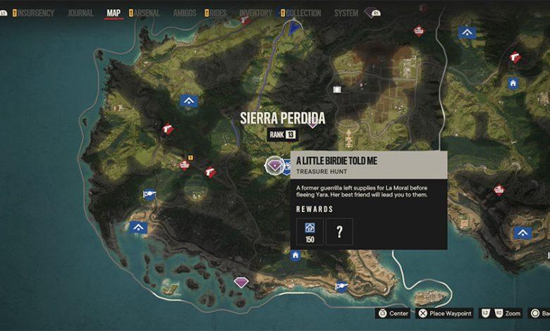 Far Cry 6 A Little Birdie Told Me Treasure Hunt Guide