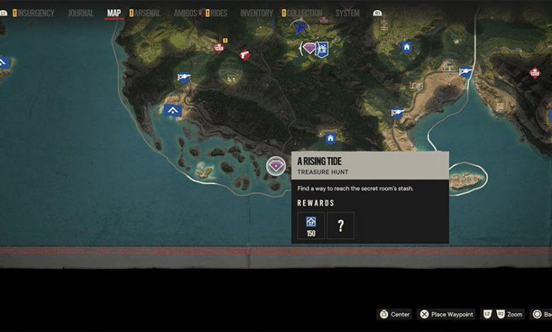 Far Cry 6 A Rising Tide Treasure Hunt Guide