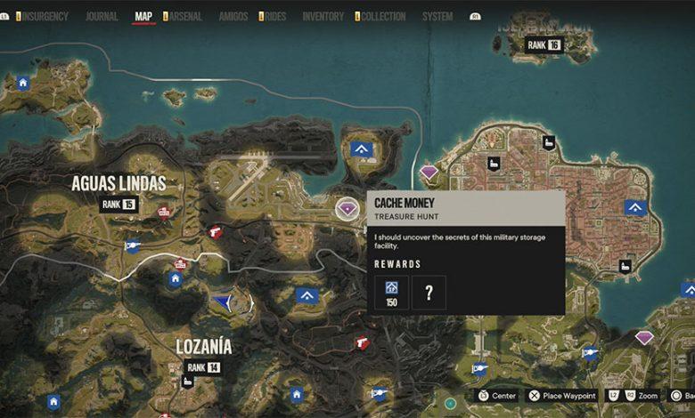 Far Cry 6 Cache Money Treasure Hunt Guide