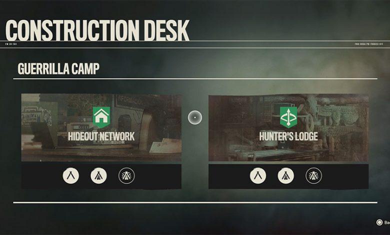Far Cry 6 Construction Desk Base Upgrades Guide