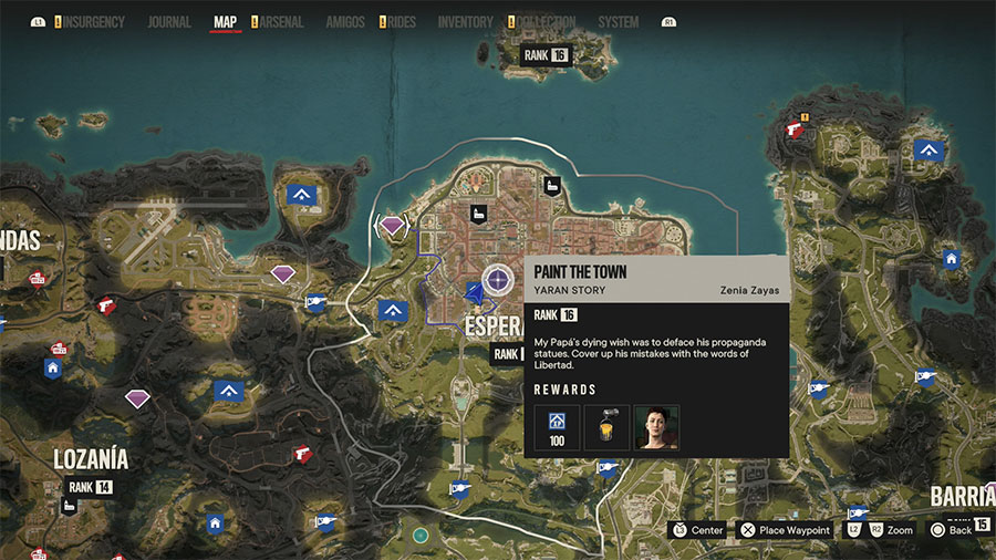 Far Cry 6 Leader Zenia