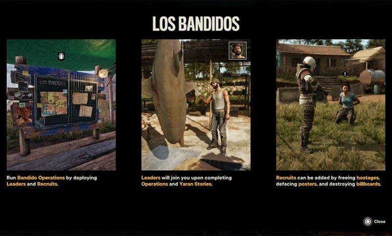 Far Cry 6 Los Bandidos Guide