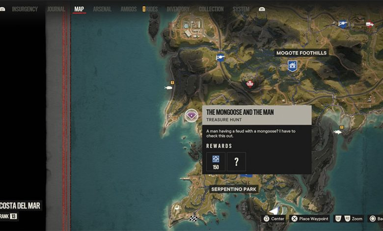 Far Cry 6 Mongoose And The Man Treasure Hunt Guide