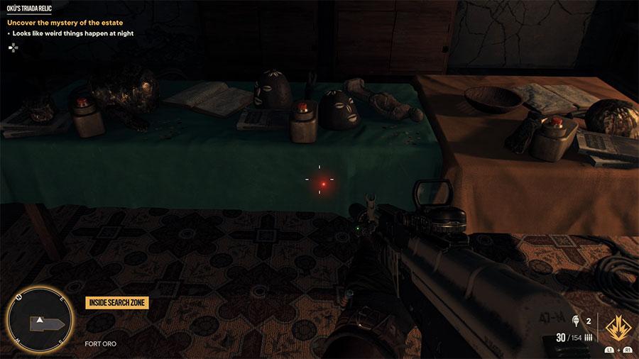 Far Cry 6 Oku's Triada Relic Treasure Hunt Guide