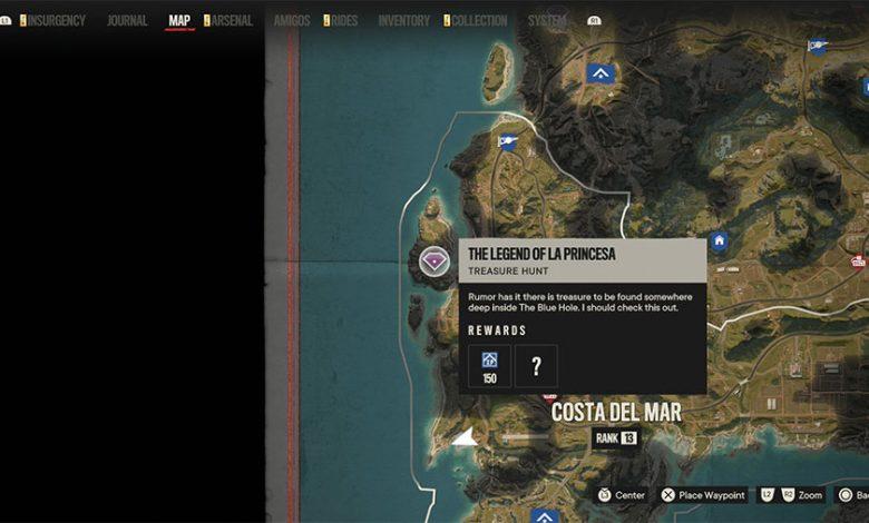 Far Cry 6 The Legend Of La Princesa Treasure Hunt Guide