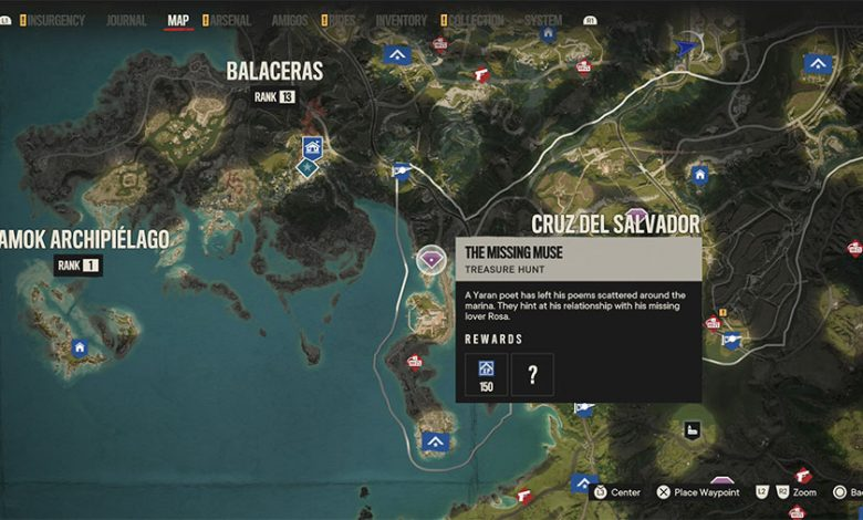 Far Cry 6 The Missing Muse Treasure Hunt Guide