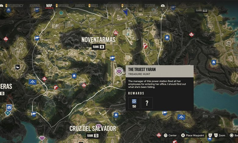 Far Cry 6 The Truest Yaran Treasure Hunt Guide